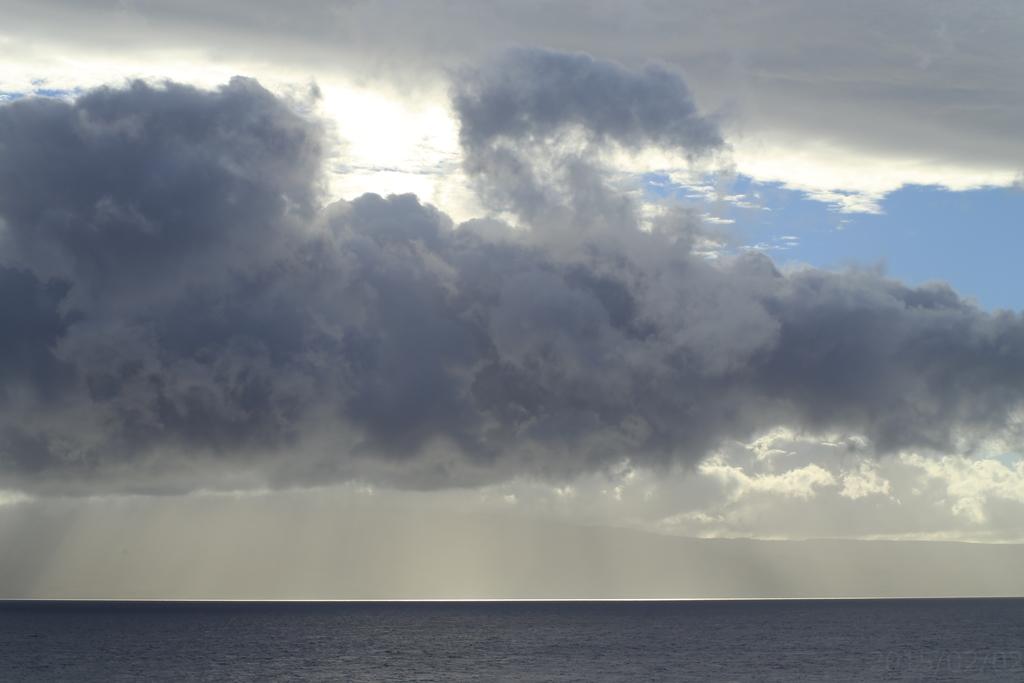 マウイ島雲景